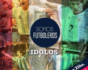 Premiere of the third season of #SomosFutboleros