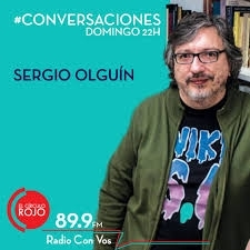 "Sergio Olguín about 1982  on ""Radio con vos"""
